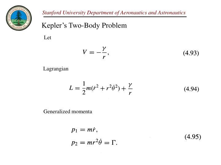 Kepler's Two-Body Problem