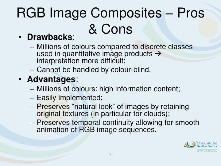 RGB Image Composites – Pros & Cons