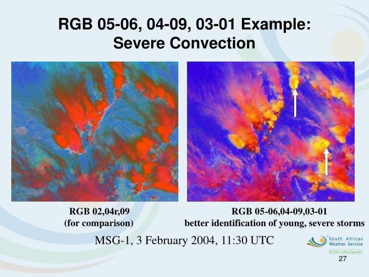 RGB 05-06, 04-09, 03-01 Example: