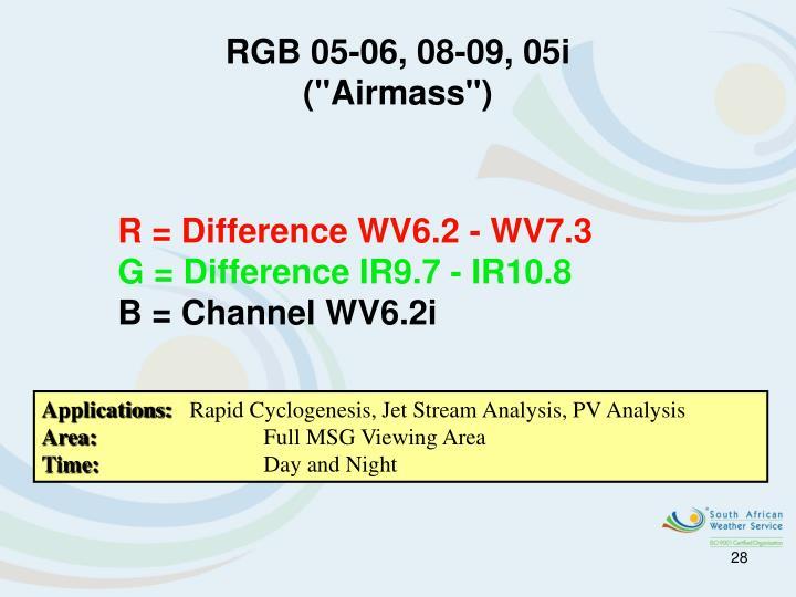 RGB 05-06, 08-09, 05i