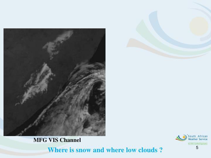 MFG VIS Channel