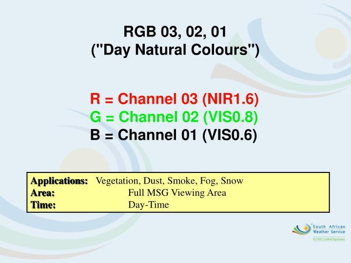 RGB 03, 02, 01