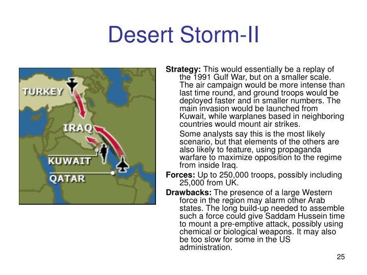 Desert Storm-II