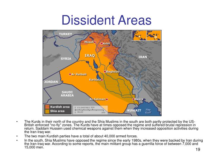 Dissident Areas
