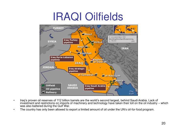 IRAQI Oilfields