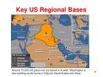 key us regional bases