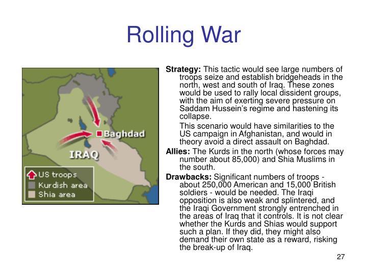 Rolling War