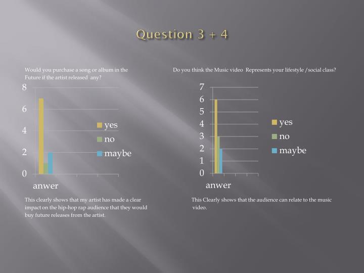 Question 3 + 4