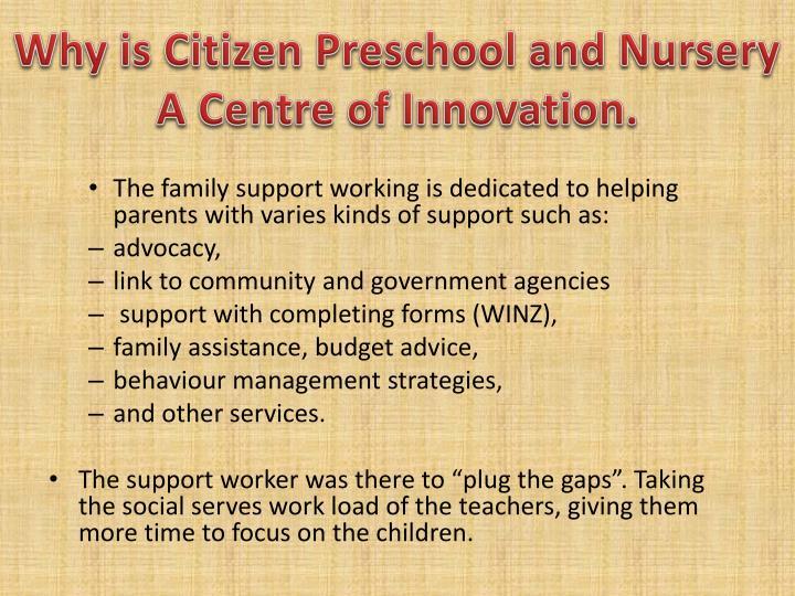 Why is Citizen Preschoo