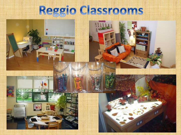 Reggio Classrooms