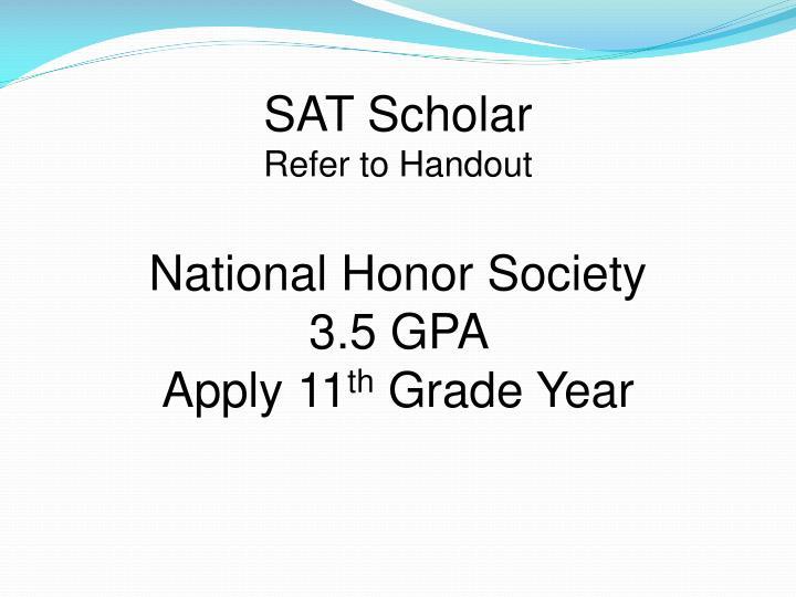 SAT Scholar