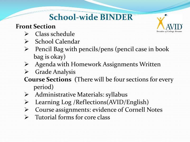 School-wide