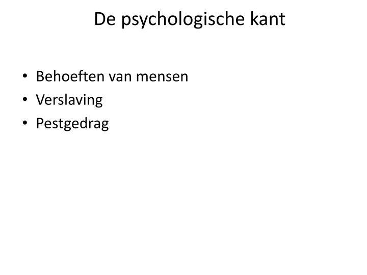De psychologische