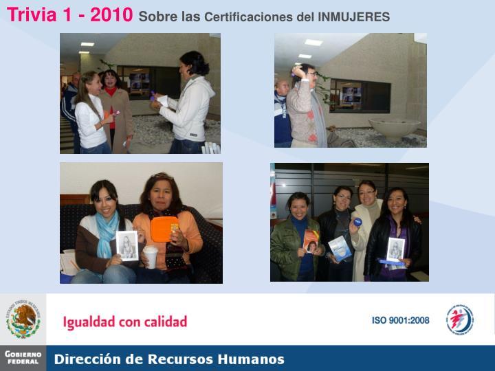 Trivia 1 - 2010