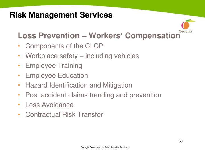 Risk Management Services