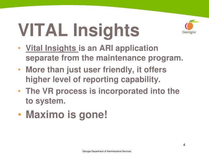 VITAL Insights