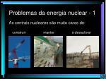 problemas da energia nuclear 1