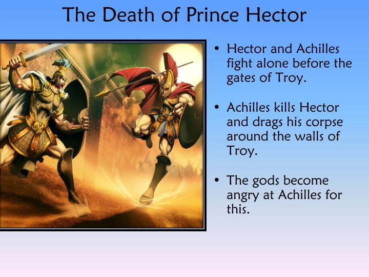 The Death of Prince Hector