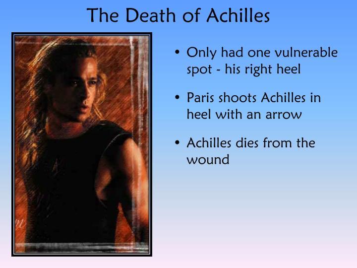 The Death of Achilles