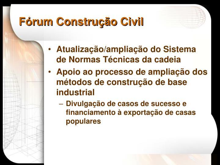 Fórum Construção Civil