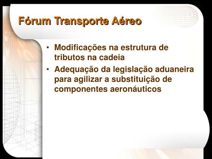 Fórum Transporte Aéreo