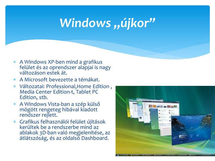 "Windows ""újkor"