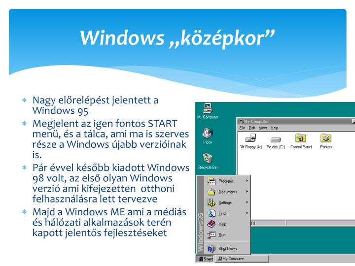 Windows k z pkor