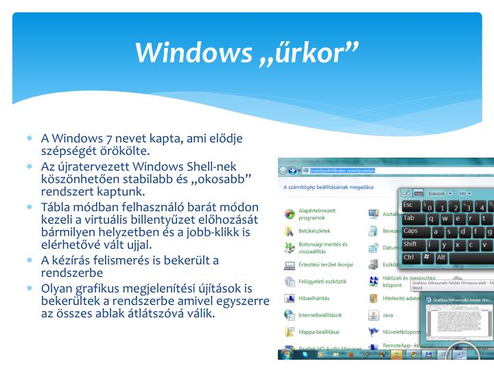 "Windows ""űrkor"