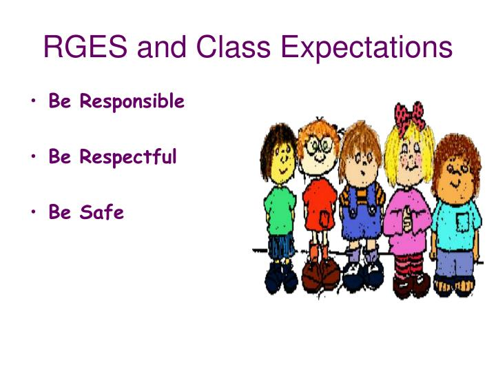 Rges and class expectations