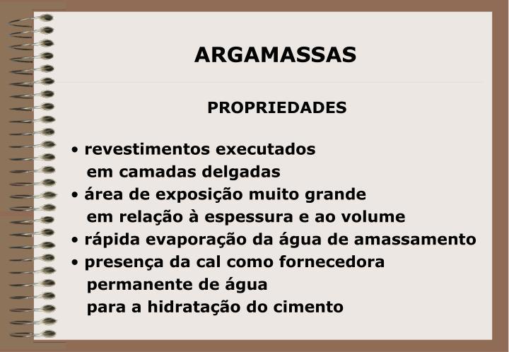 ARGAMASSAS