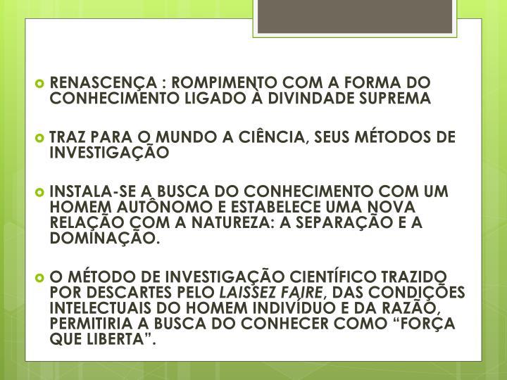 RENASCENÇA :