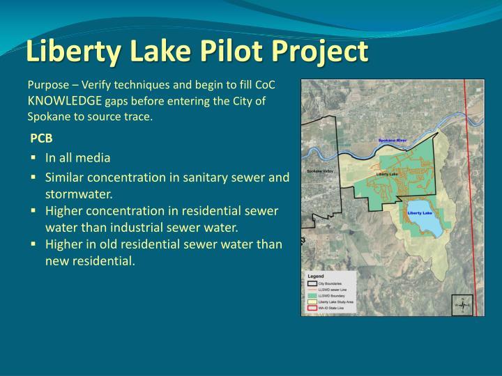 Liberty Lake Pilot Project