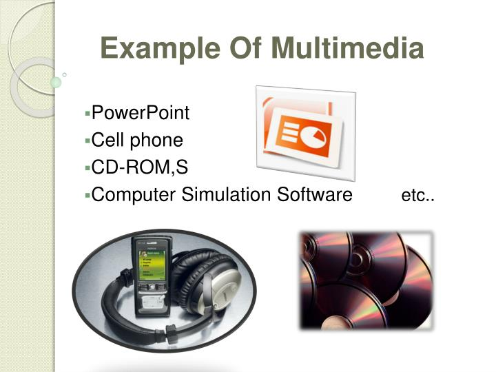Example Of Multimedia