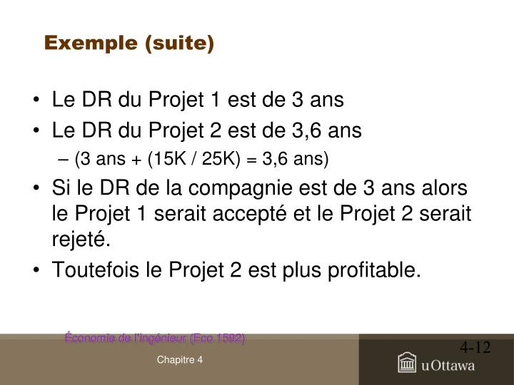 Exemple (suite)