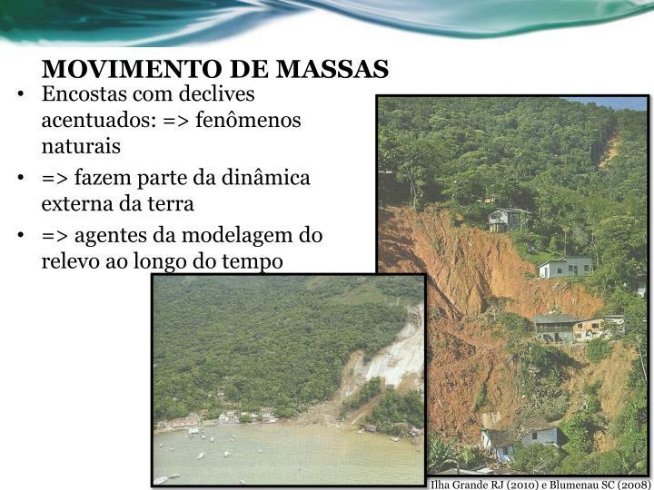 MOVIMENTO DE MASSAS