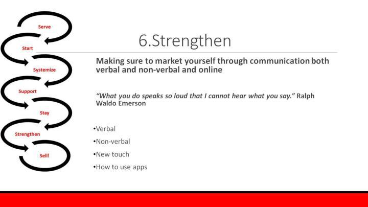 6.Strengthen