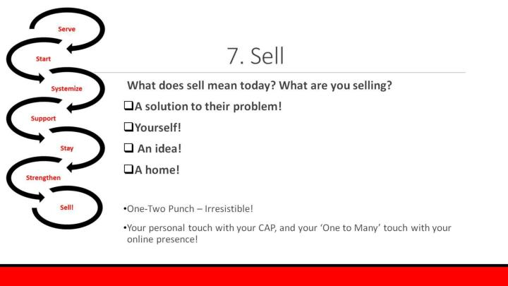 7. Sell