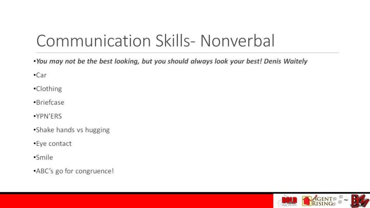 Communication Skills- Nonverbal