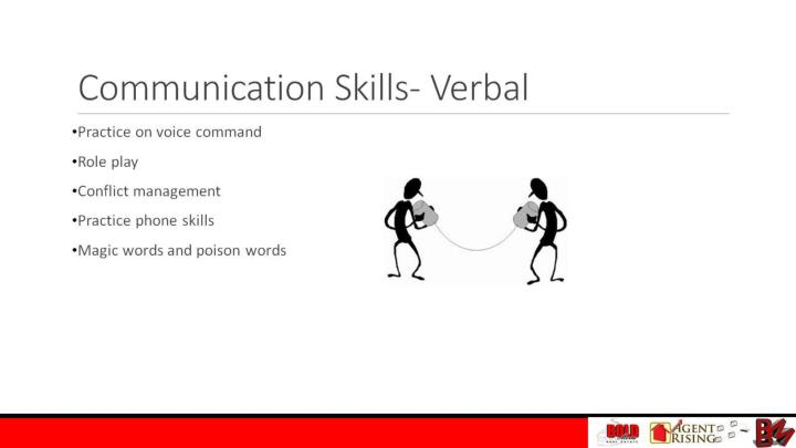 Communication Skills- Verbal