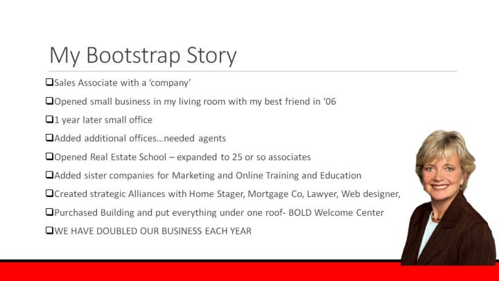 My Bootstrap Story