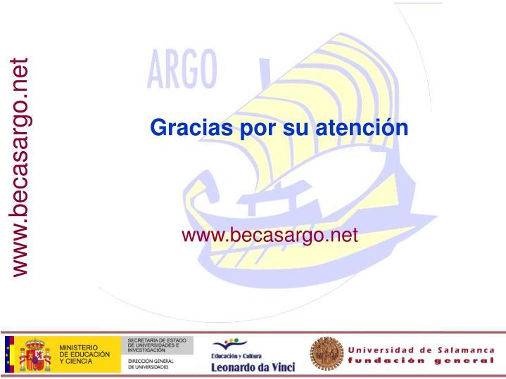www.becasargo.net