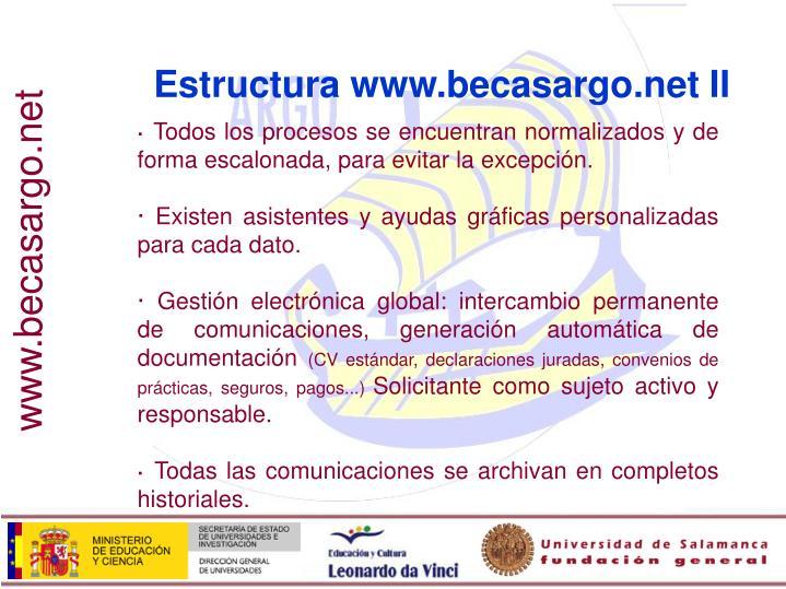 Estructura www.becasargo.net II
