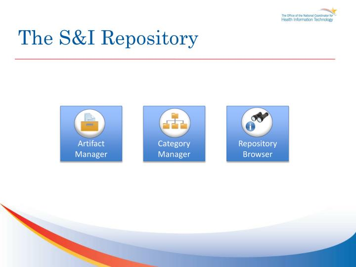 The S&I Repository