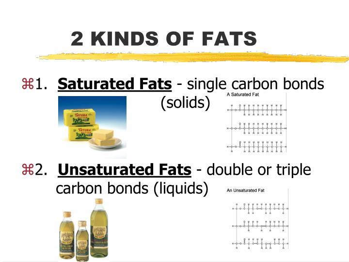 2 KINDS OF FATS