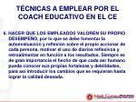 t cnicas a emplear por el coach educativo en el ce4