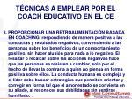 t cnicas a emplear por el coach educativo en el ce6