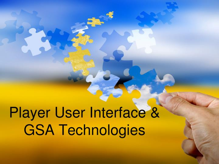 Player User Interface &