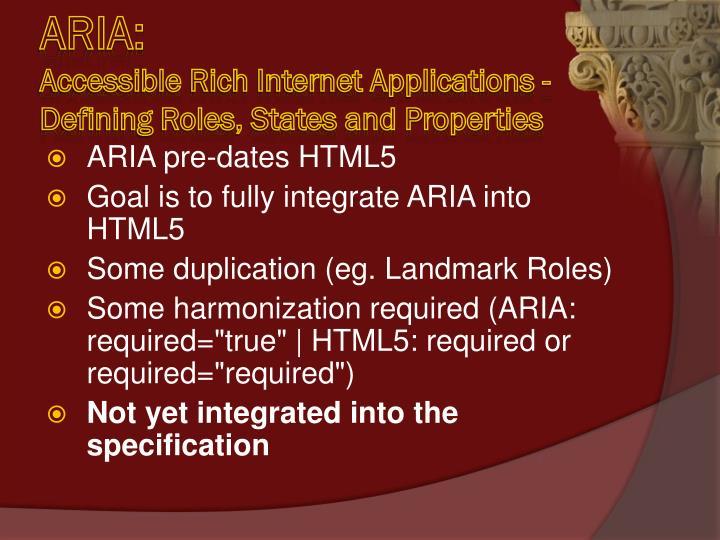 ARIA: