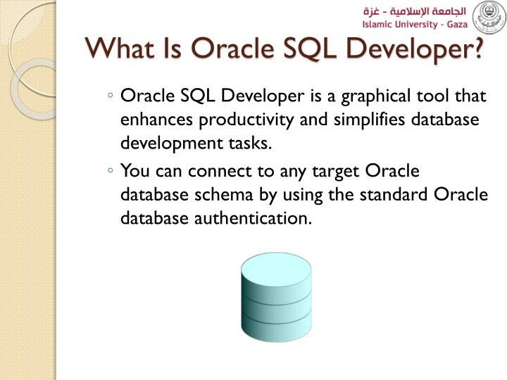 What Is Oracle SQL Developer?