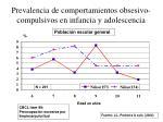 prevalencia de comportamientos obsesivo compulsivos en infancia y adolescencia26